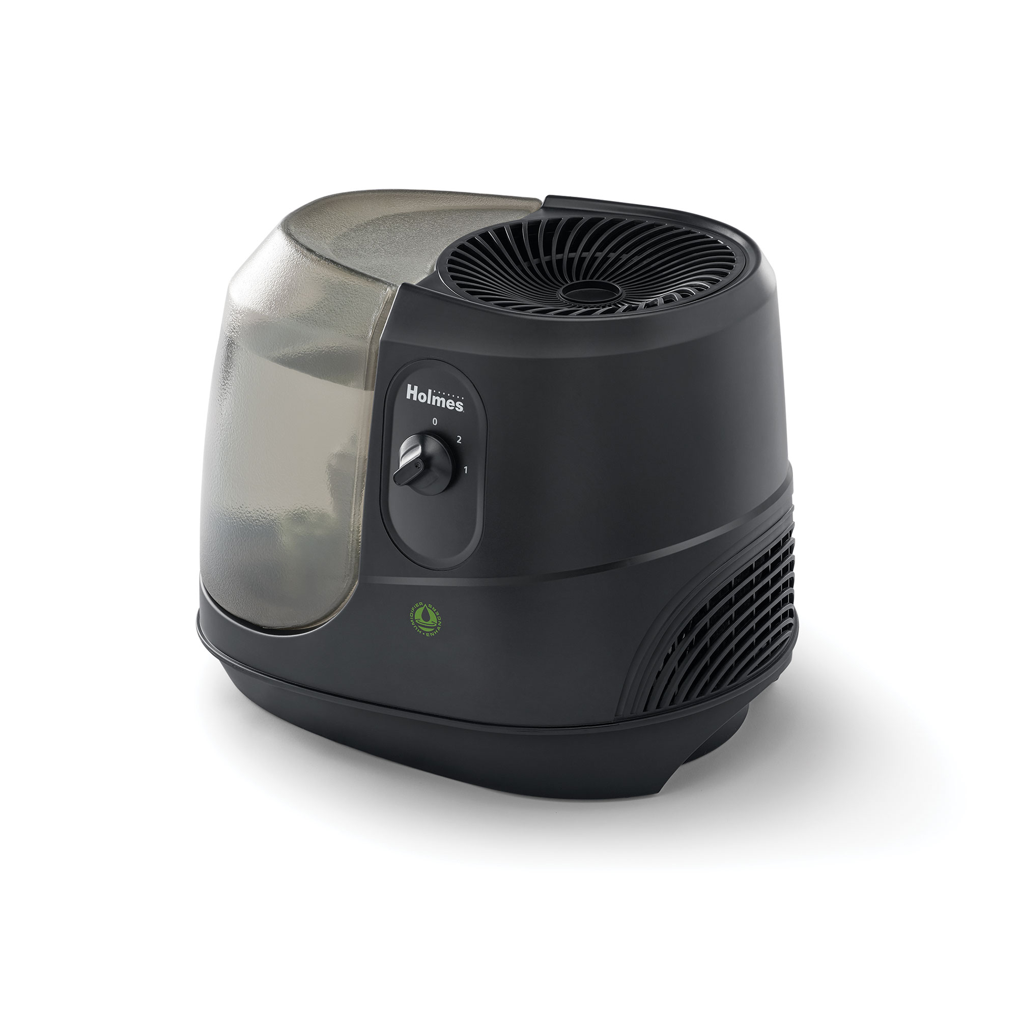 Holmes Cool Mist Humidifier Small Room 1 Gallon Black