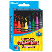 New 401770  16 Color Premium Crayons (24-Pack) Writing Utensils Cheap Wholesale Discount Bulk Stationery Writing Utensils Crayons