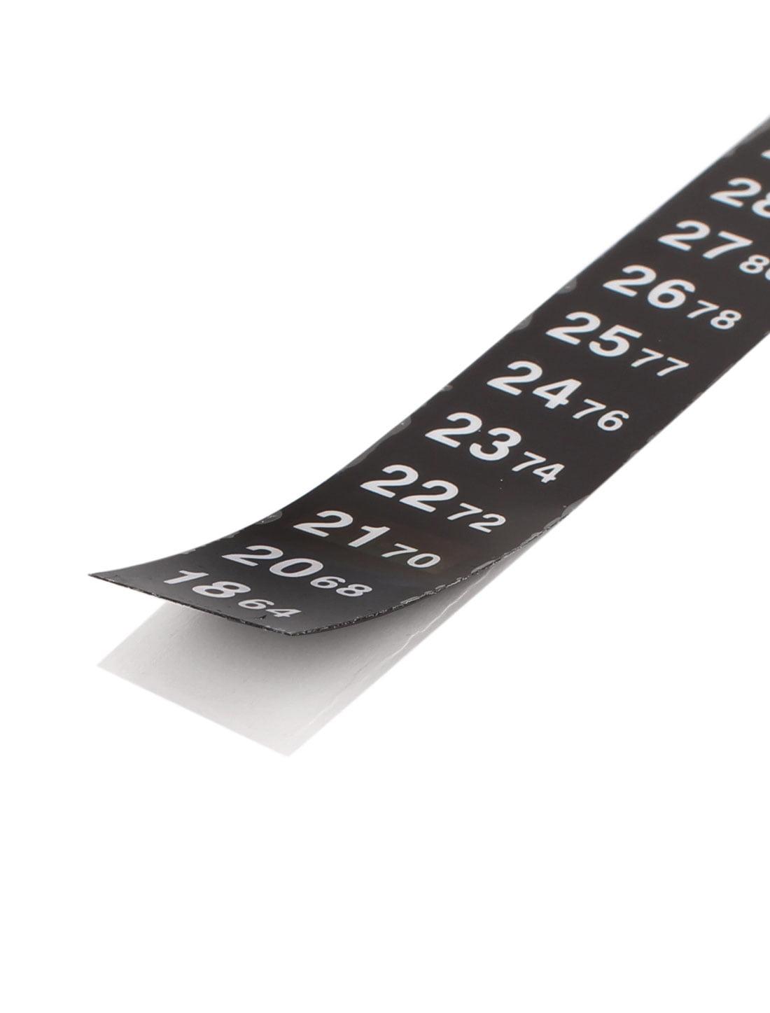 Dual Scale C//F Sticker Thermometer