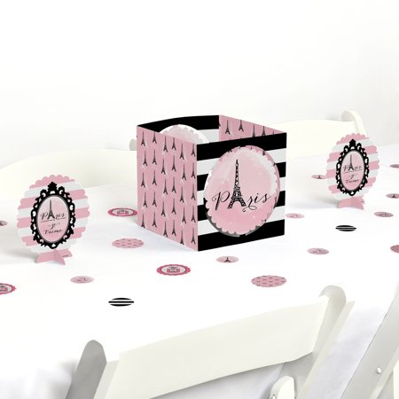 Paris, Ooh La La - Paris Themed Party Centerpiece & Table Decoration Kit - Party Decorations Paris