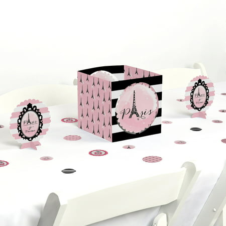 Paris, Ooh La La - Paris Themed Party Centerpiece & Table Decoration Kit](Paris Themed Party Decorations)