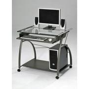 Acme Furniture Vincent Computer Desk, Pewter