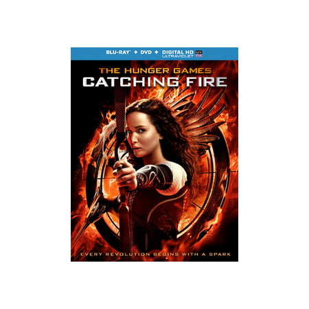 The Hunger Games: Catching Fire (Blu-ray + DVD + Digital HD) (Halloween Theme Park Hunger Games)