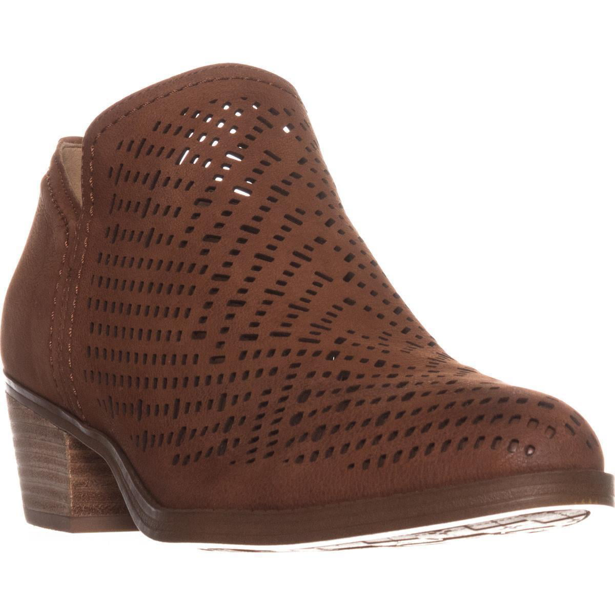 Womens Naturalizer Zenith Perforated Ankle Booties, Whiskey by Naturalizer
