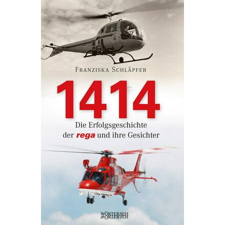1414 - Die Erfolgsgeschichte der Rega und ihre Gesichter - eBook (Formen Der Gesichter)