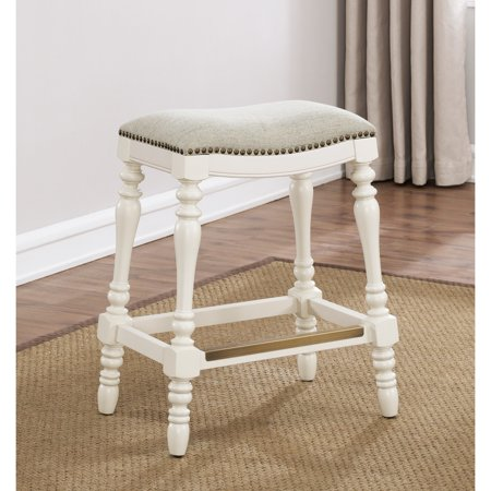 Comfort Pointe Hollyn 25 Inch Saddle Seat Counter Stool By