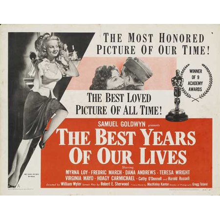 The Best Years of Our Lives POSTER Movie Half Sheet B