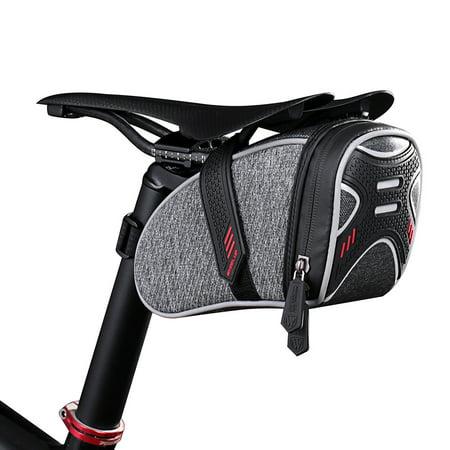 Bike Bicycle Cycling Saddle Bag Portable Seat Post Bag Road Bike MTB Cycling Saddle Pouch Bike Bicycle Storage