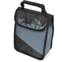 Arctic Zone Hi-Top Lunch Bag with Microban Protected Easy Clean Lining (Black)