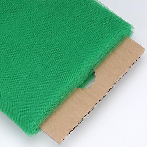 Emerald - 54 Inch Premium Tulle Fabric Bolt ( W: 54 inch   L: 40 Yards )