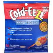 COLD-EEZE Lozenges All Natural Honey Lemon 18 Each