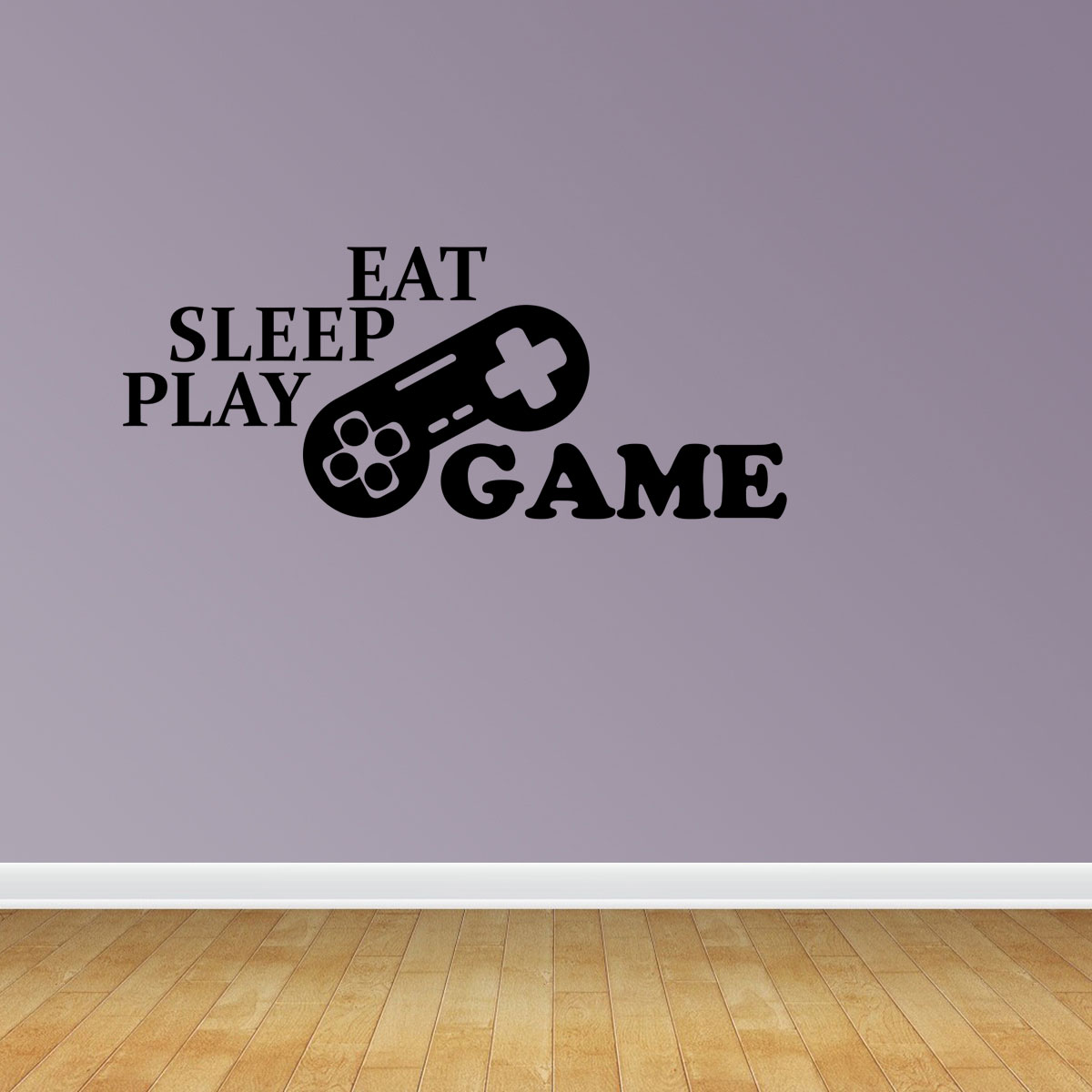 Eat Sleep Play Game Vinyl Wall Decals Vinyl Decals Video Gamer Decal Game Room Decal PC168