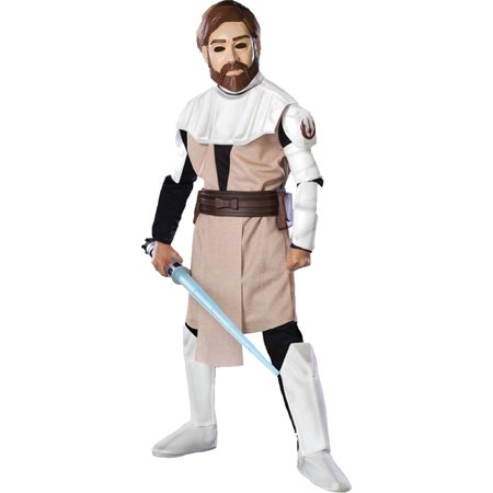 Morris costumes RU883197SM Obi Wan Kenobi Dlx Child Small