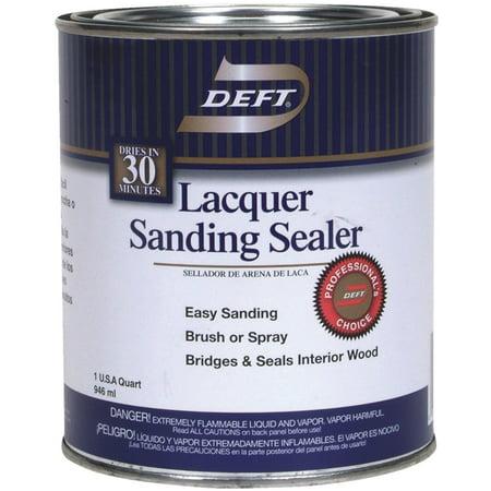 Deft/Ppg Architectural Fin DFT015/04 Lacquer Sanding Sealer, 1-Qt. - Quantity 1