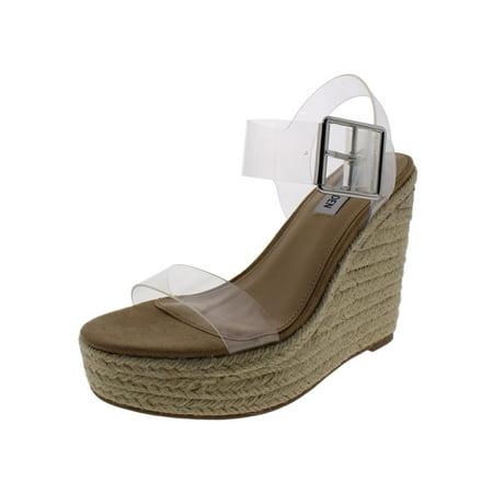 29b863b8fba Steve Madden - Steve Madden Womens Splash Wedge Sandals Espadrilles 6  Medium (B