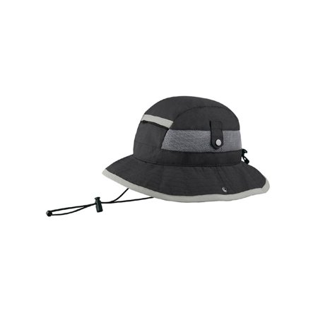 TASLON UV WATER REPELLENT BUCKET HAT - Olive Black - image 1 of 1