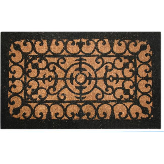 Imports Decor 699TCM Fleur De Lis Welcome Mat