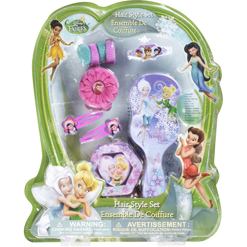 Disney Fairies Hair Style Set, 10 pc