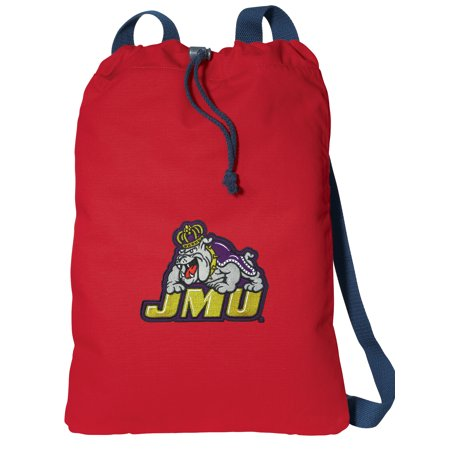 Canvas James Madison University Drawstring Bag DELUXE JMU Cinch ...