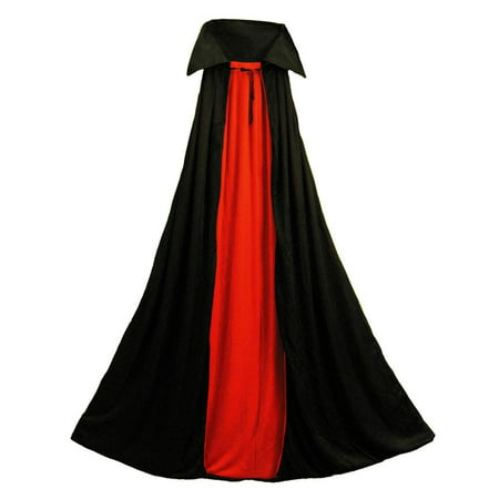 "SeasonsTrading 48"" Fully Lined Deluxe Vampire Cape Costume Accessory"