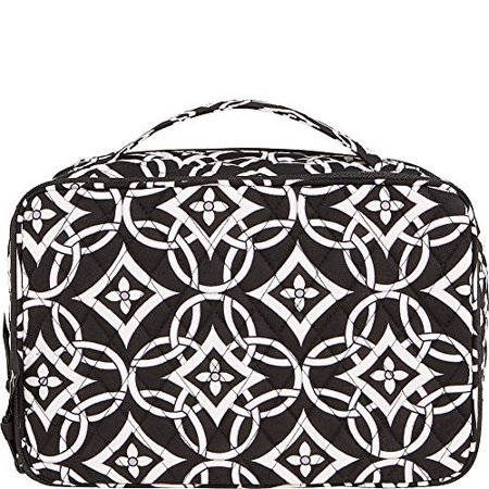 Vera Bradley Womens Blush & Brush Makeup Case