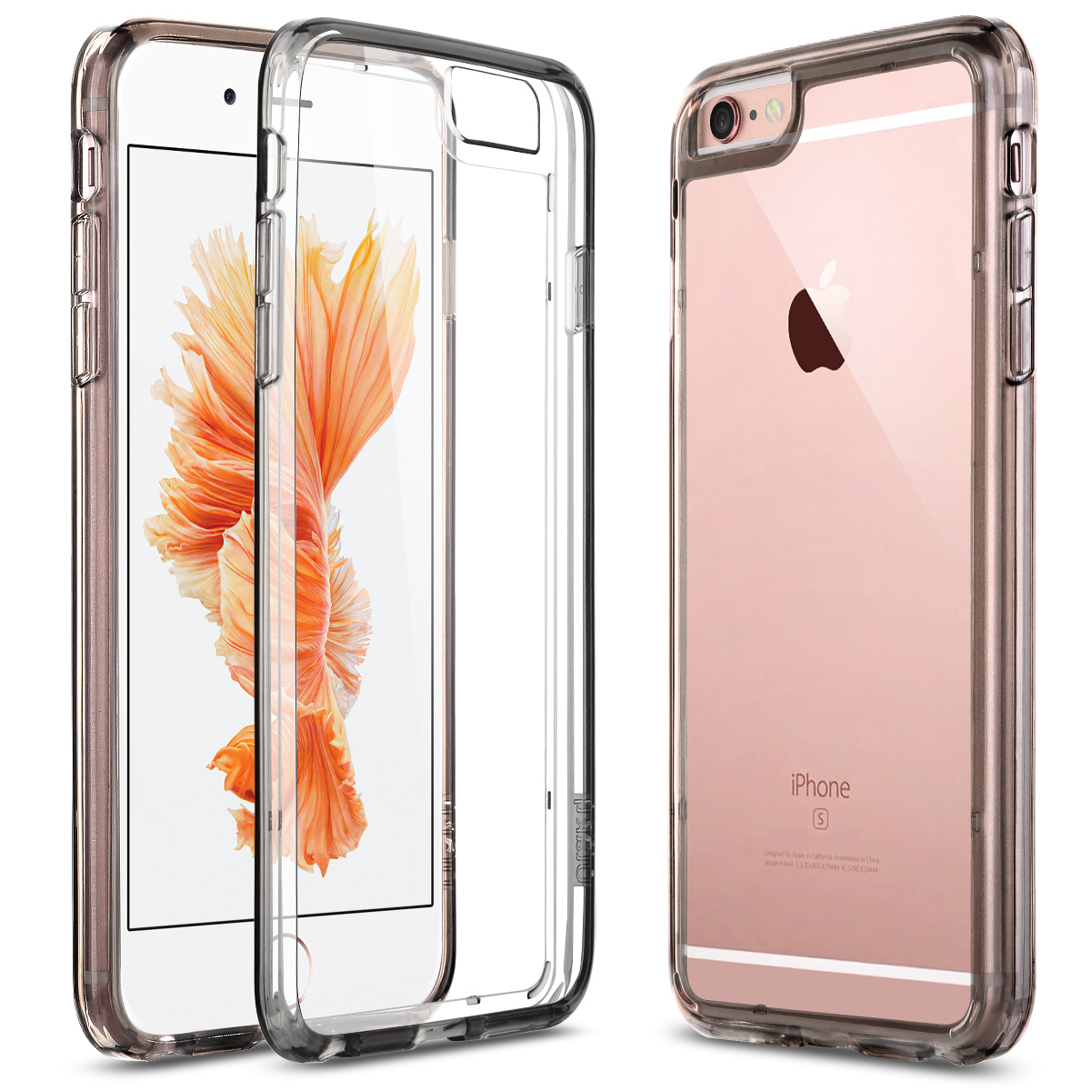 Apple iPhone 6 6S Plus 5.5 Case, ULAK [CLEAR SLIM] iPhone 6 Plus Clear Case Cover Bumber Hard for Apple iPhone 6 6S Plus 5.5 Inch - Walmart.com