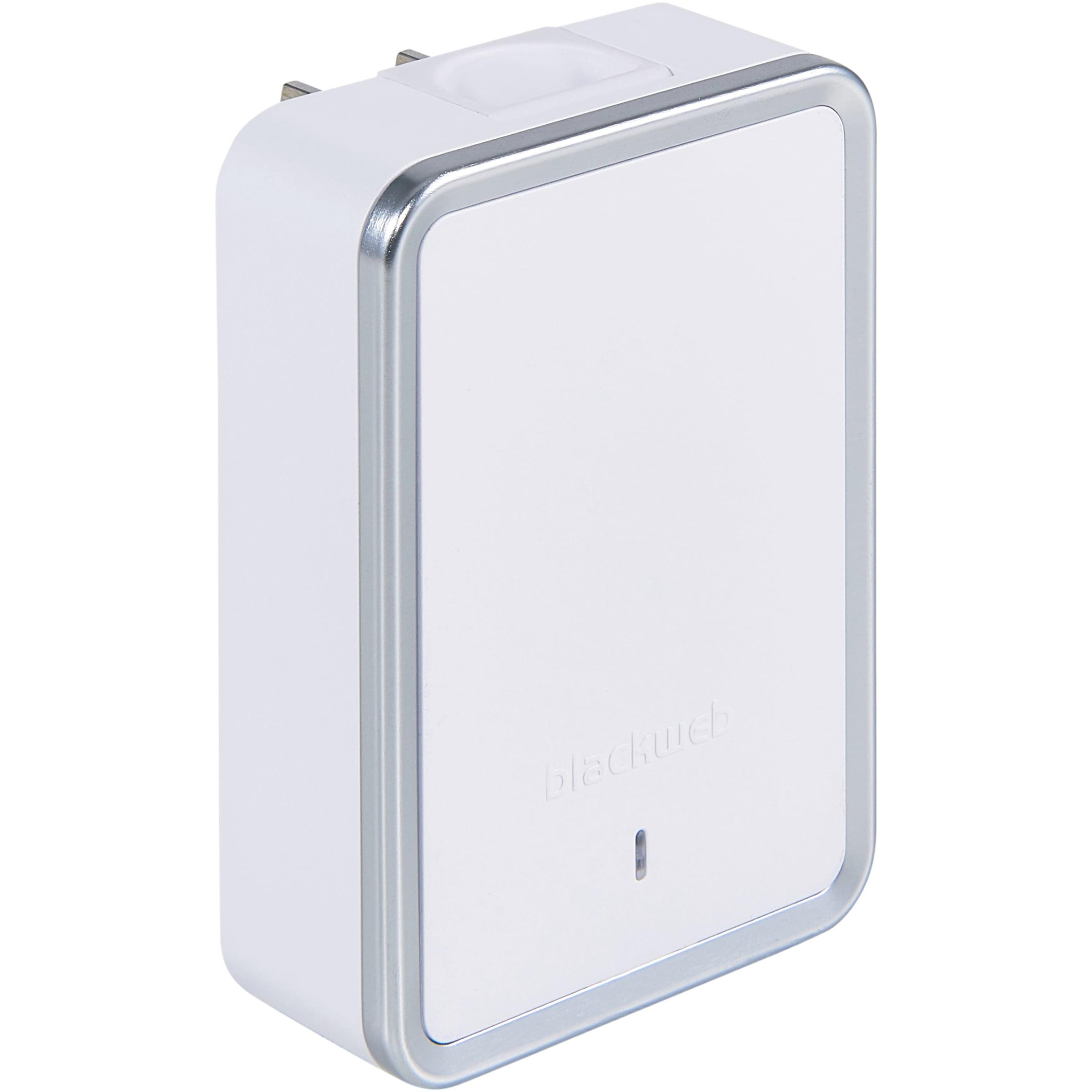 Blackweb USB-C & USB-A Dual-Port Wall Charger, White