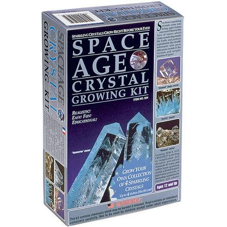 Space Age Crystals  4 Crystals  Aquamarine    Diamond    Calcite