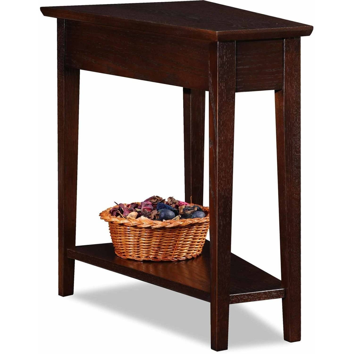 Leick Home Recliner Wedge Table, Multiple Colors