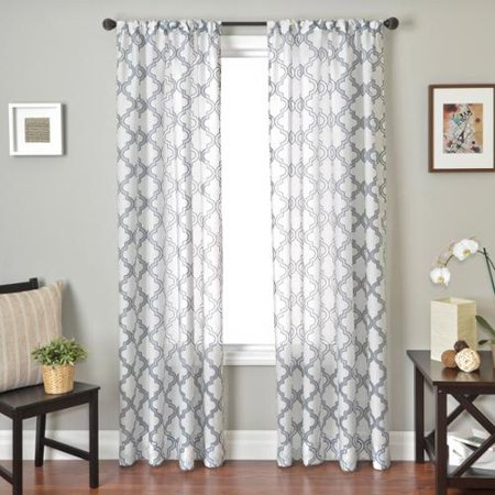 Burnout Curtains Softline Home Fa...