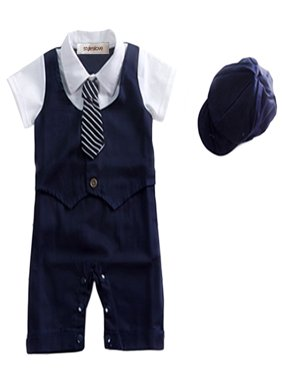 bf8ef2d7a Blue StylesILove Baby Rompers & One-pieces - Walmart.com