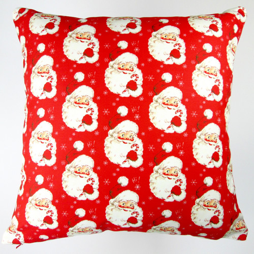Artisan Pillows Christmas Hi Santa Throw Pillow