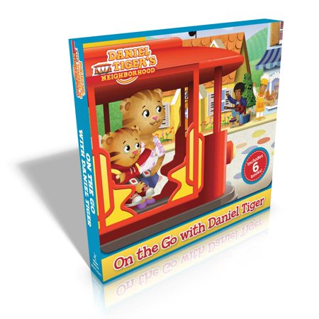 On the Go with Daniel Tiger! : You Are Special, Daniel Tiger!; Daniel Goes to the Playground; Daniel Tries a New Food; Daniel's First Fireworks; Daniel's New Friend; Nighttime in the Neighborhood (Daniel Tiger Dress)
