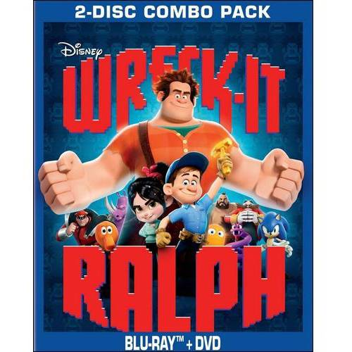 Wreck It Ralph (Blu-ray   DVD) (Widescreen)