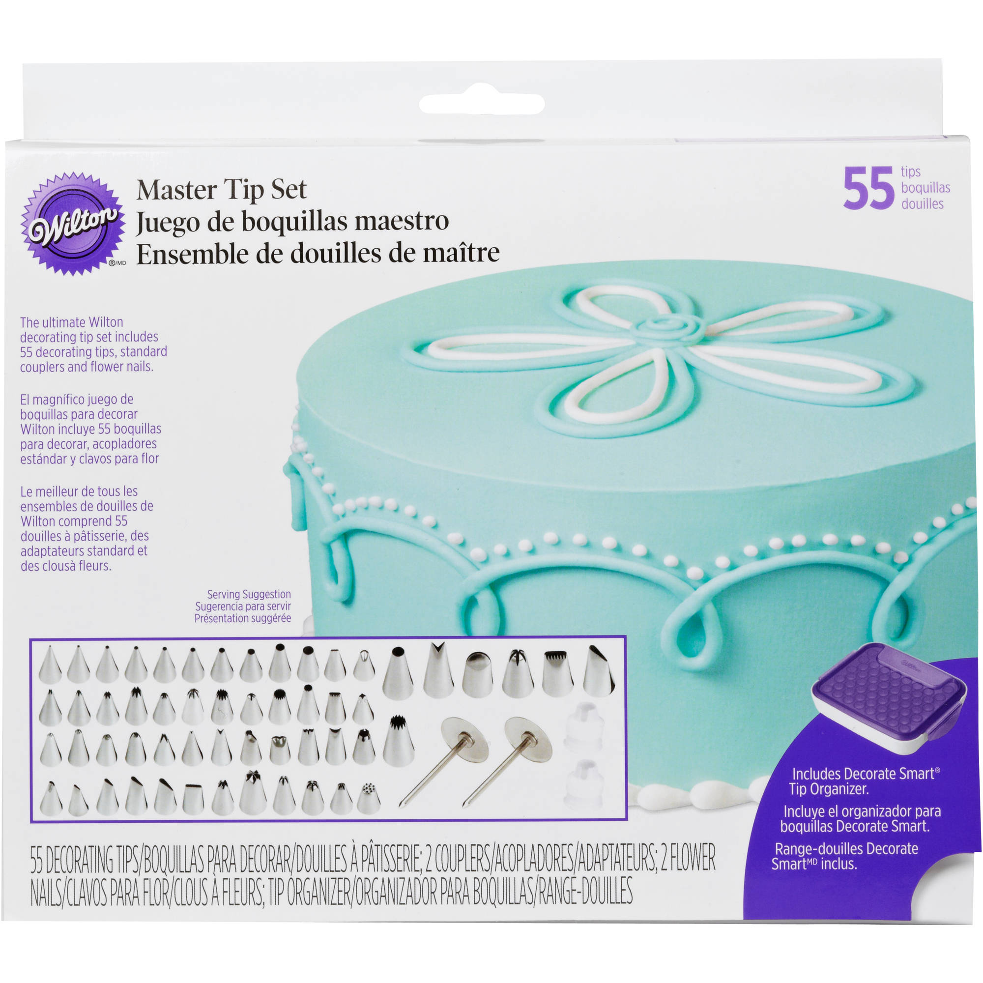Wilton Master Decorating Tip Set 2104-0240