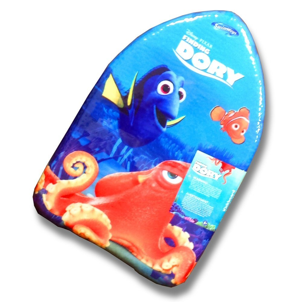 swimways 17in x 11in small foam kickboard - finding dory