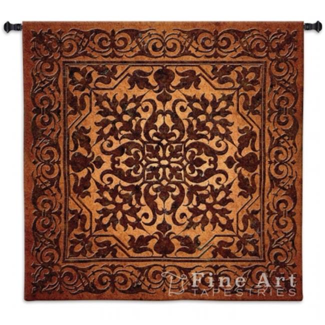 FineArtTapestries 2888-WH Iron Work Wall Tapestry