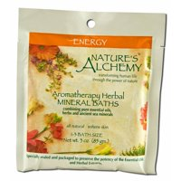 Nature's Alchemy - Aromatherapy Mineral Baths, Energy 3 oz each