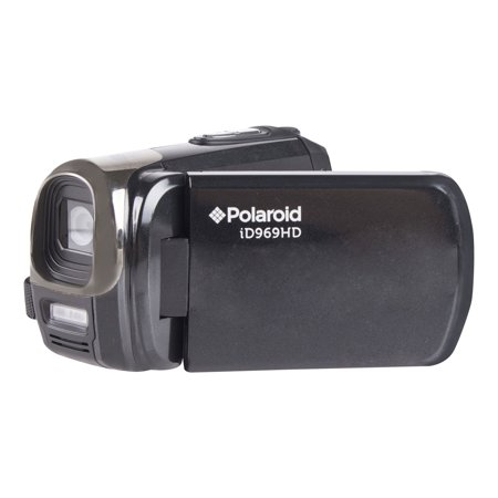 Polaroid ID969-BLK/KIT-MCF 16.1MP FULL HD 1080P Digital Camcorder