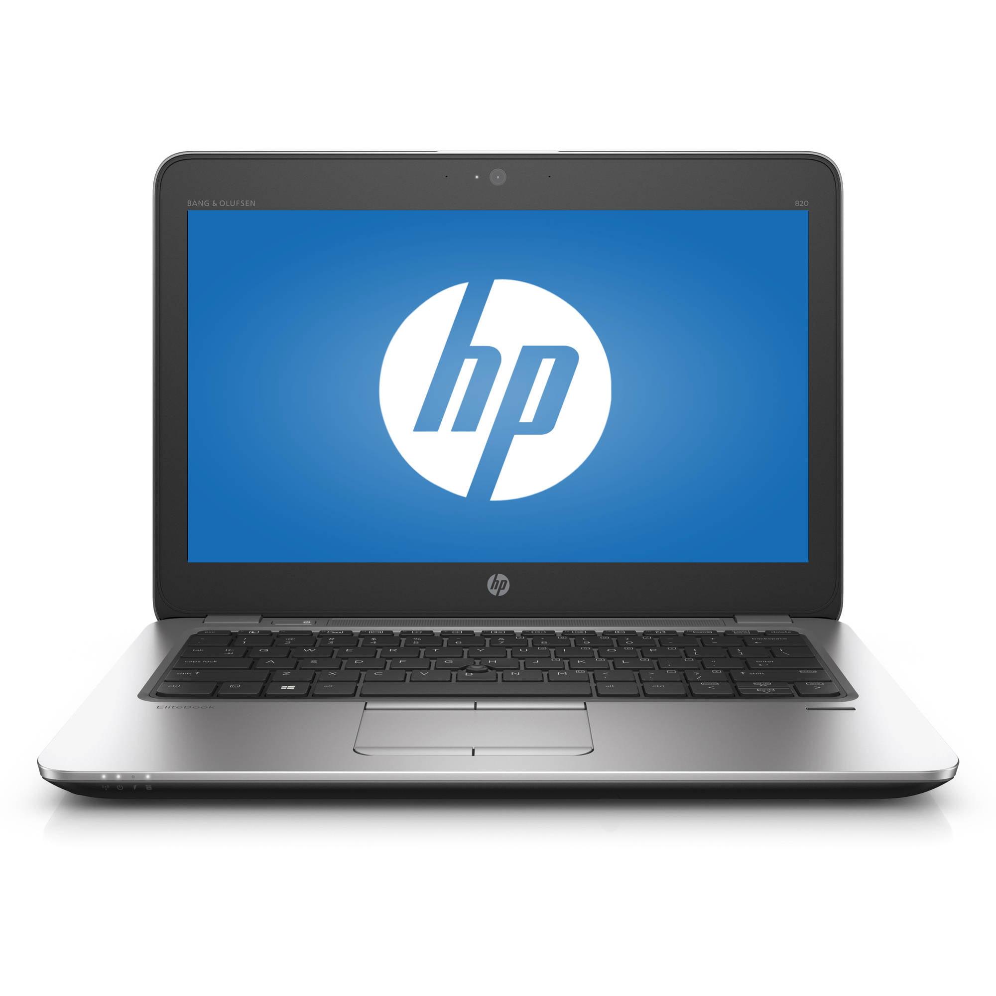 """HP EliteBook 820 G3 12.5"""" Laptop, Windows 7 Professional, Intel Core i5-6300U Processor, 8GB RAM, 500GB Hard Drive"""