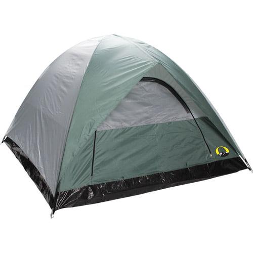 """Stansport Ranier 2 Pole Dome 4-Person Tent, 9'X7"""""""
