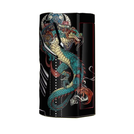 Skin Decal Vinyl Wrap for Smok T-Priv 3 Kit 300w TC Vape skins stickers cover/ Dragon Japanese Style
