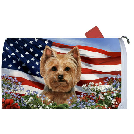 Yorkie Puppy Cut - Best of Breed Patriotic I Dog Breed Mail Box (Best Mail Order Lobster Tails)