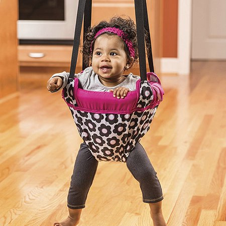 Evenflo doorway jumper marianna for Door bouncer age