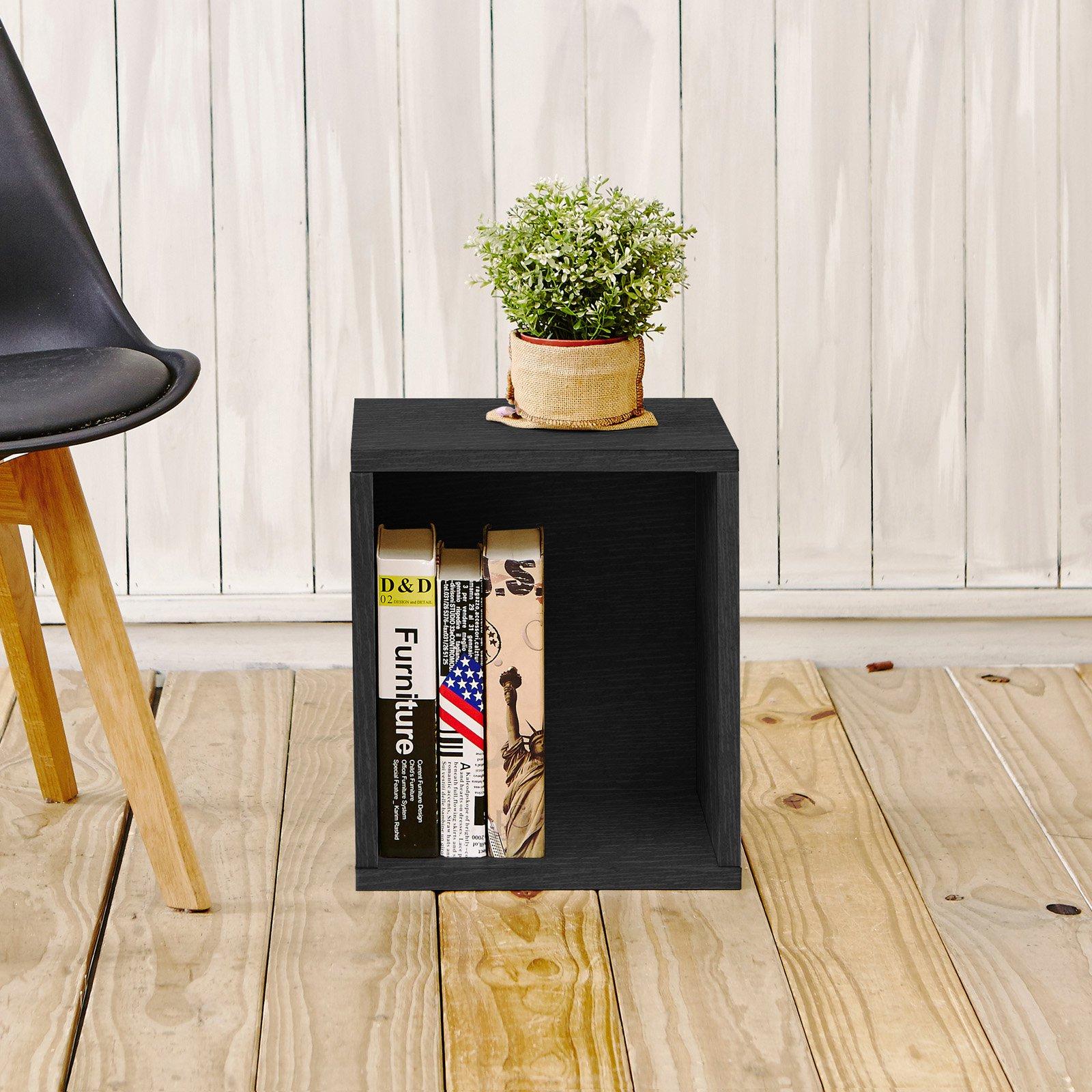 Way Basics Design A Cube Tall Bookcase