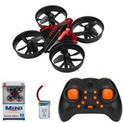 NK SUPPORT Stunt Drone, 2.4GHz Remote Control Helicopter Plane Nano Drone with 3D Flip Headless Mode, Mini RC Quadcopter with Assisted Landing, Small Plane for Kids and Beginners