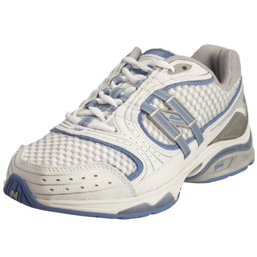 New Balance Women's WX1010 Cross-Trainer, White/ Blue, 6....