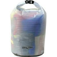 KWIK TEK ROLL TOP DRY BAG CLEAR 11-1/2X19