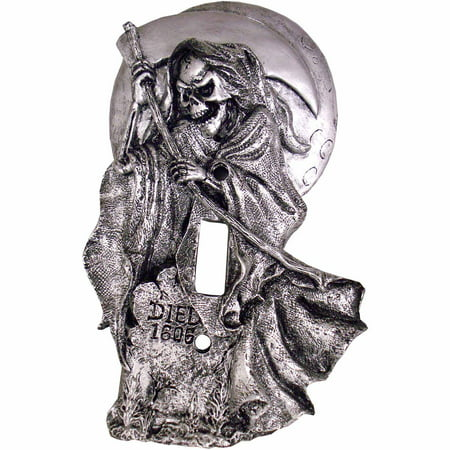 Grim Reaper Light Switch Cover Halloween - Grim Reaper Decorations