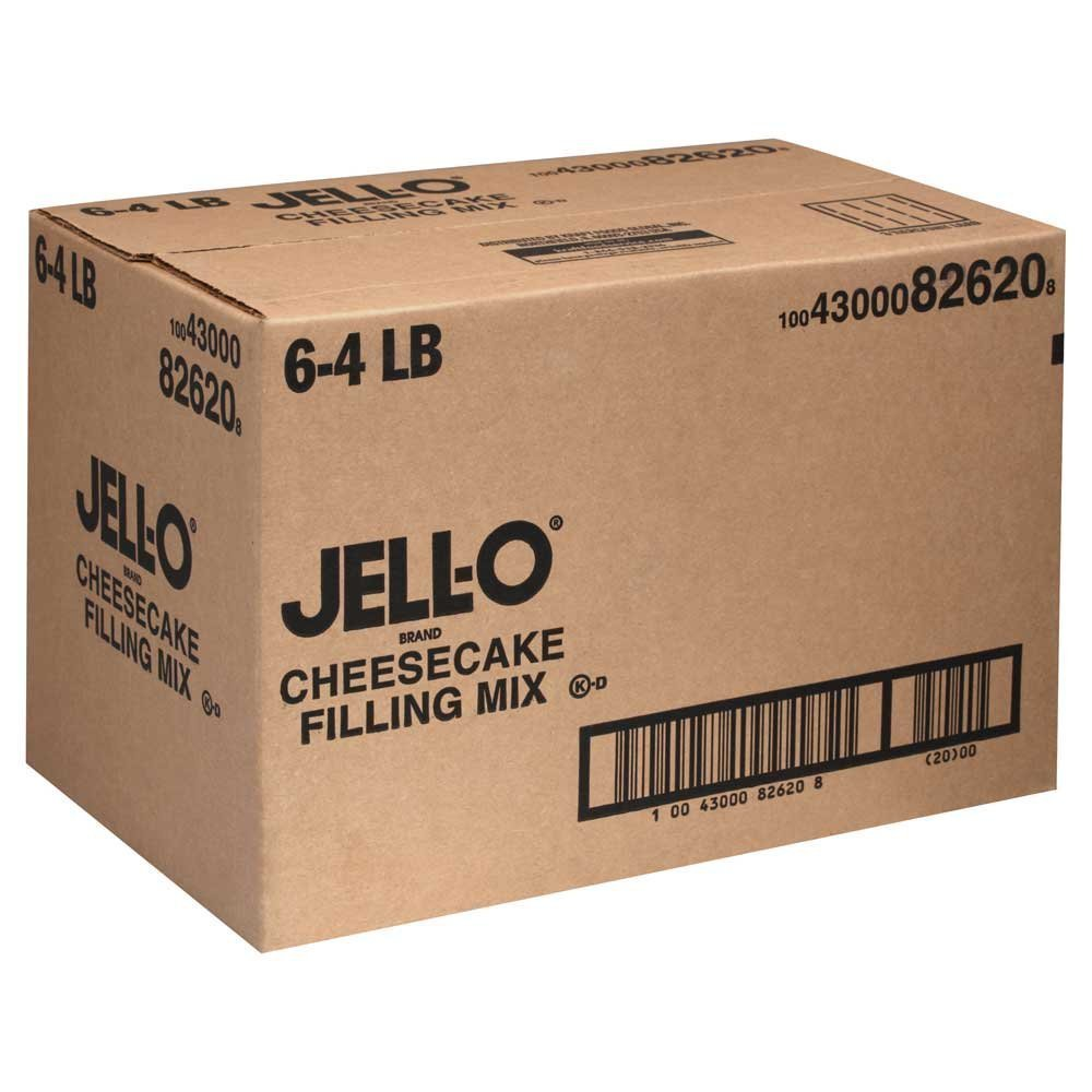 6 PACKS : Mix Jello Cheesecake 4 Pound. by